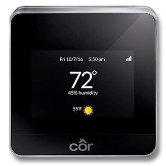 Côr® Wi-Fi®Thermostat Model: TP-WEM01-A